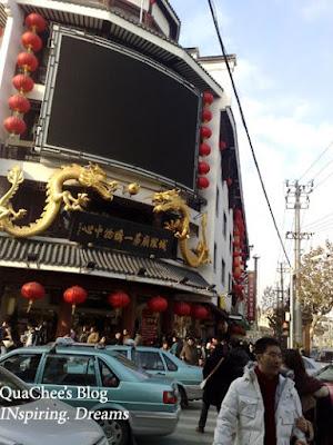 yuyuan garden bazaar, crowd