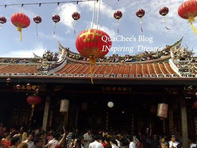 chinese new year malaysia, temple