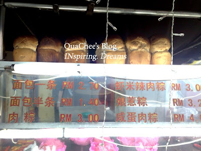 muar food, bread
