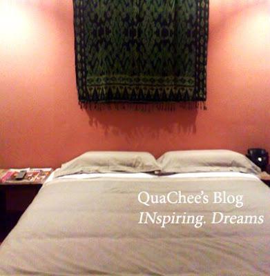 kuching hotel room bed