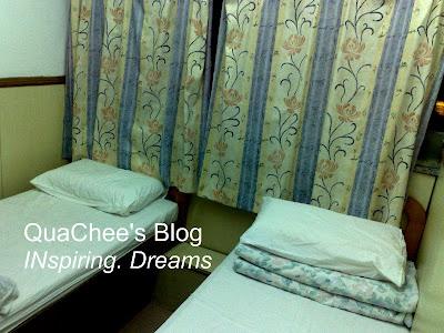 cram hotel room