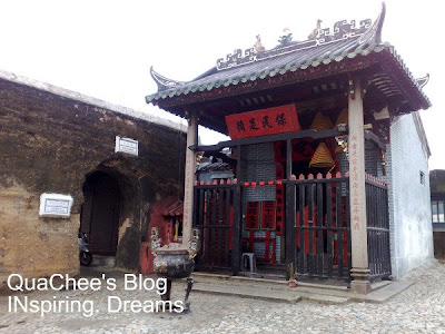 na tcha temple, old city wall