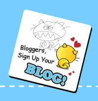 bookmarqc bloggers sign up