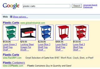 Google Adwords New Ads format