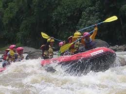 RAFTING AT ELLO RIVER