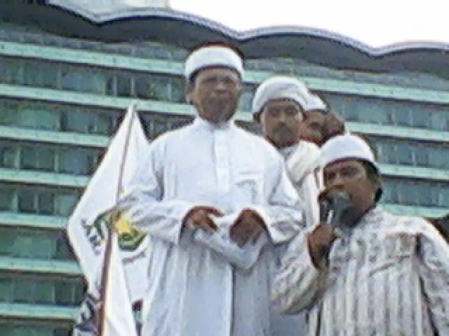 Aksi Umat Islam (17-09-2010) Ba'da Jum'at