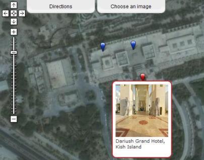 تور مجازی هتل بزرگ داریوش کیش Dariush Grand Hotel Virtual Tour