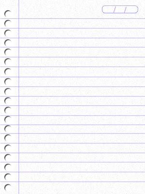 Para Criar Uma Folha De Caderno    Bem Simples