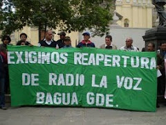 "EXIGEN REAPERTURA DE RADIO ""LA VOZ"" DE BAGUA"