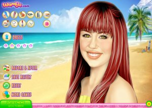 Miley Cyrus Games on Game  Miley Cyrus Makeover