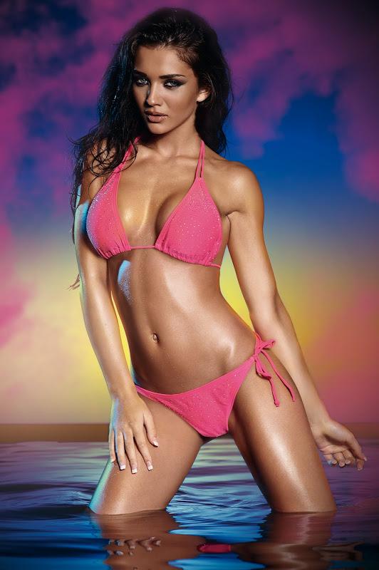 ... Amy Jackson Hot in Bikini wallpapers
