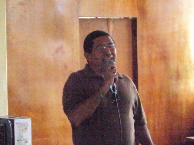charla del profesor: Blas Castillo