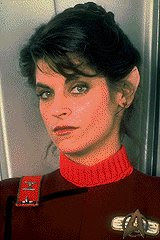 Kirstie Alley as Saavik