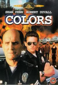 Colors Memorabilia with Sean Penn and Robert Duval