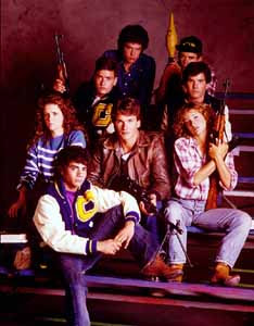 Original cast of Red Dawn