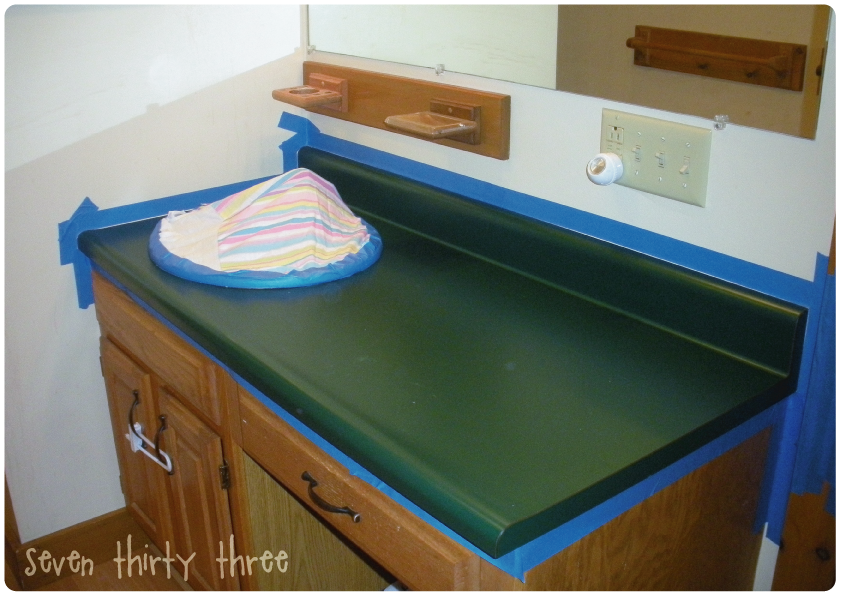 How To Paint Your Countertops Somewhat Simple