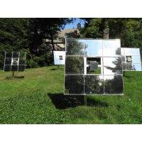 Espejos que reflejan luz solar para calentar la casa - Calentar la casa ...
