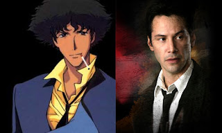 Keanu Reeves in Cowboy Bebop