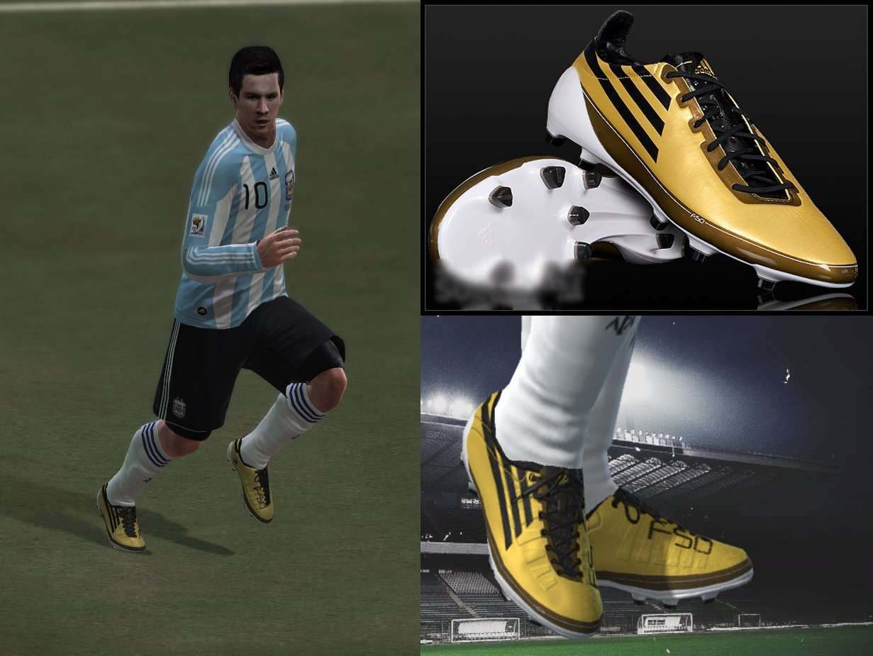 Pes 2010 Adidas AdiZero F50 Messi By R Shrek
