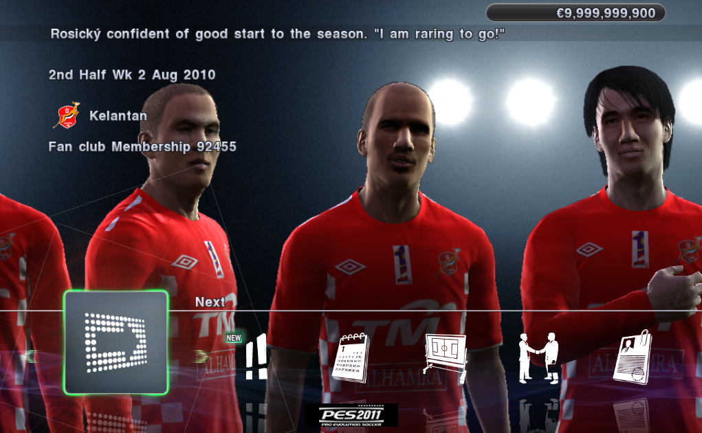 Pes 2011 Malaysia Patch v1.0 MSL Included by RaZoR General Feature: