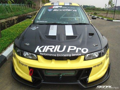 mitsubishi lancer sei modification by signal auto bandung indonesia