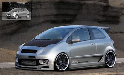 Toyota Yaris Modification