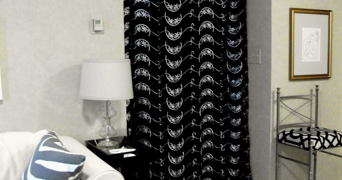 Bromeliad Diy Wednesday Make A Curtain Room Divider