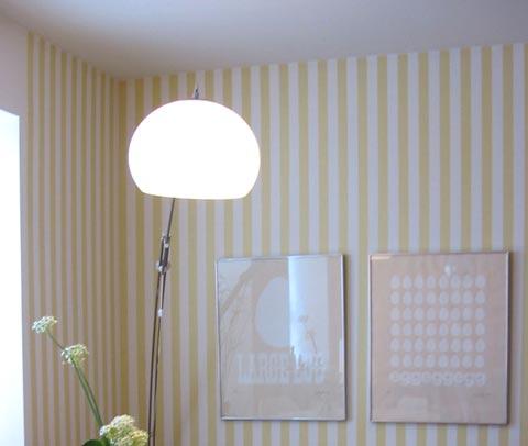 Bromeliad diy wallpaper alternatives fashion and home - Alternatives to painting walls ...