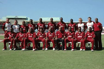 Name of West Indies Cricket team Player list for ICC World Cup 2011