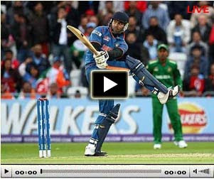 Watch ICC world cup 2011 cricket match live online free