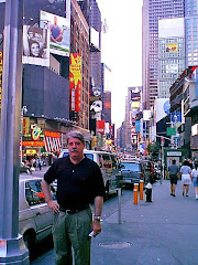 Larry in Times Square