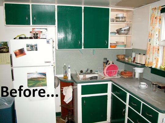 Kitchen Dreams Low budget kitchen remodel