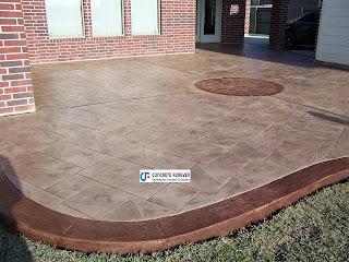 Stamped Concrete Contractors In Houston Texas