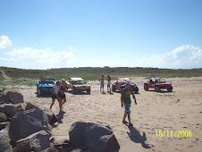 Almoço na Praia - 2008