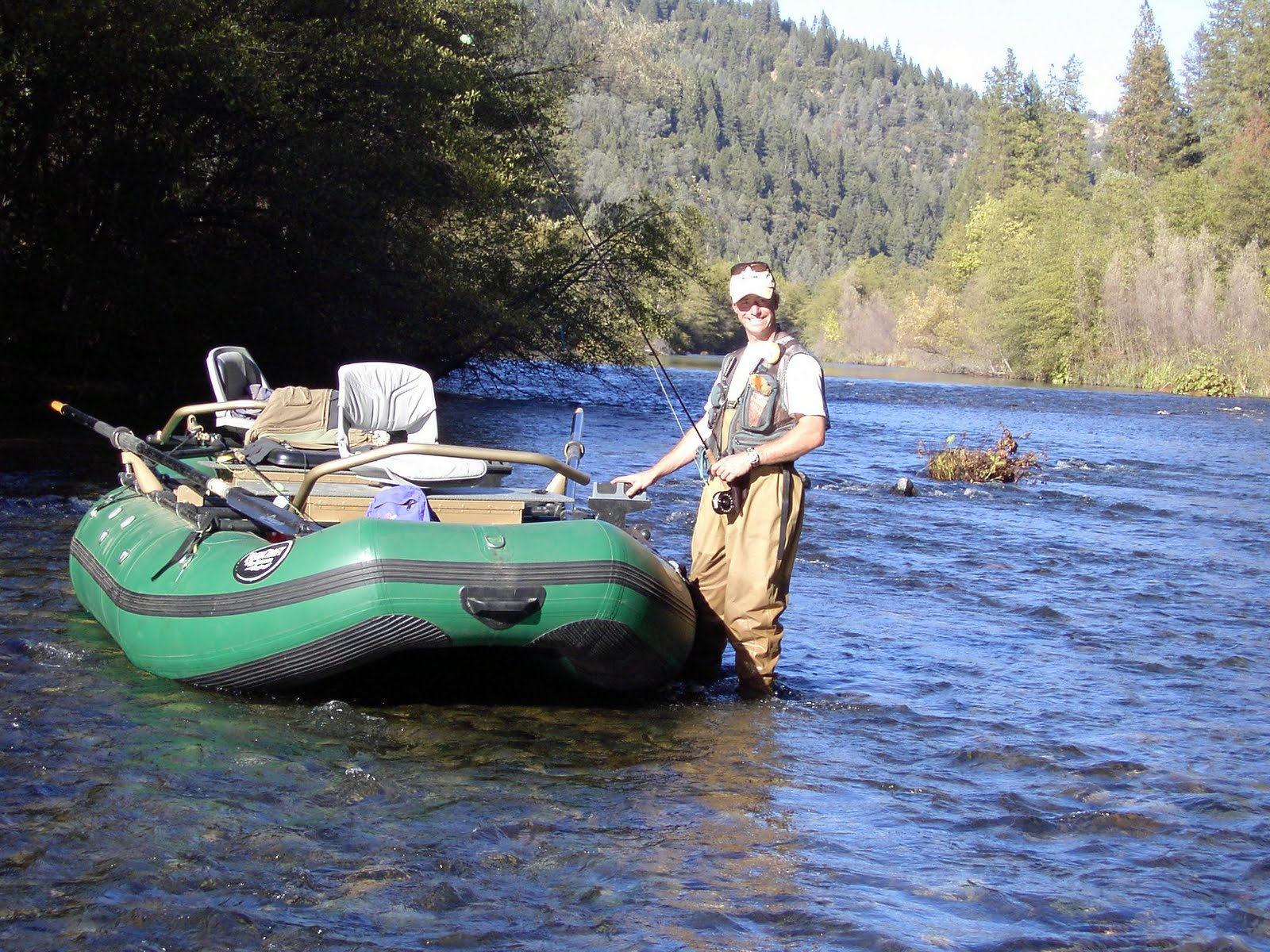Fly fishing traditions drift boat rowing 101 part ii for Drift boat fishing