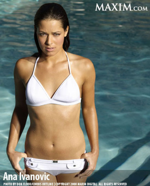 Ana Ivanovic Pool Images