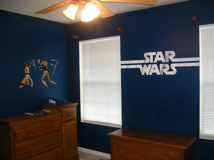 Wolf creations Star wars bedroom ideas