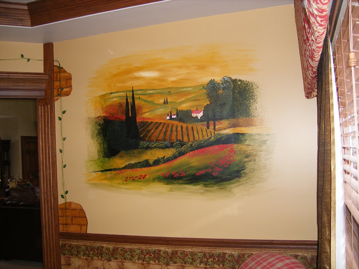 Julie's Tuscany Italy themed Room