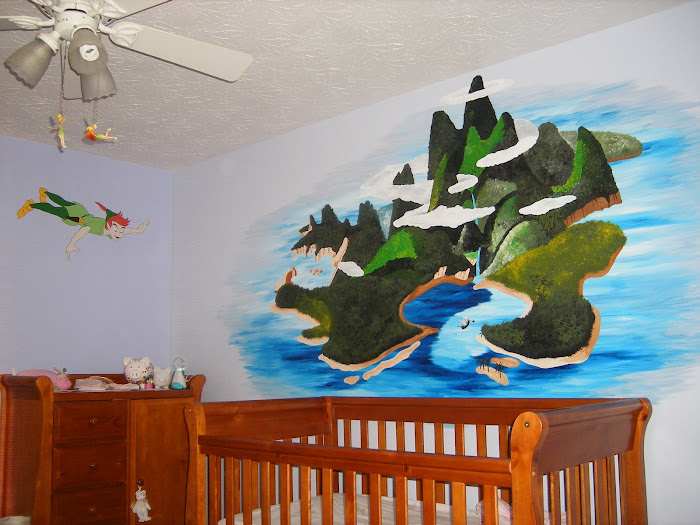Rachel's Peter Pan/ Neverland Nursery