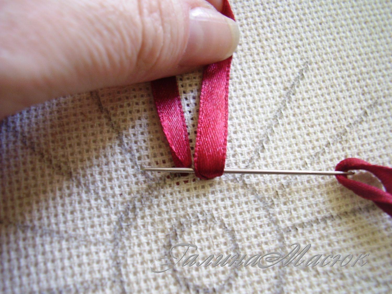 Что нужно для вышивки из лент