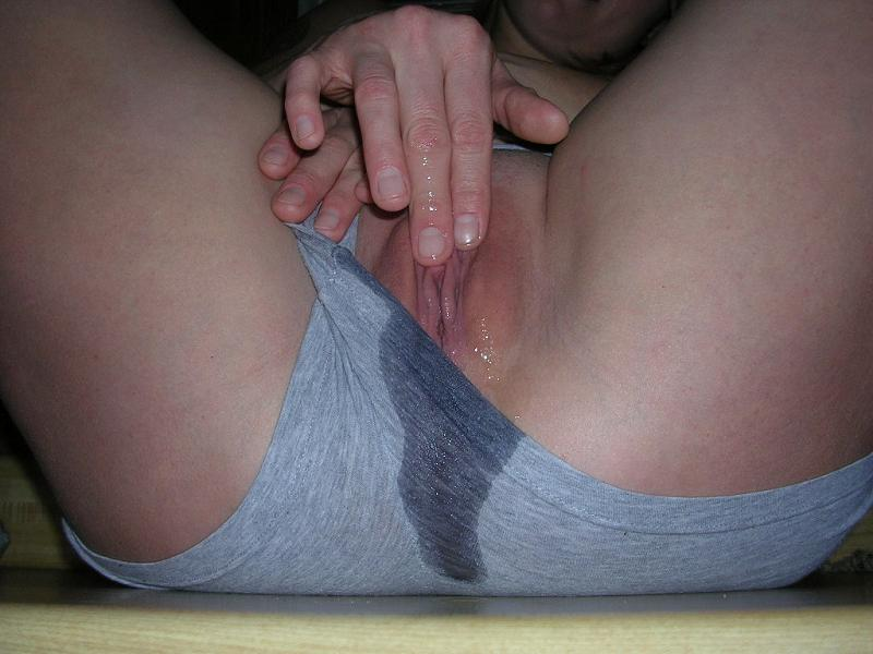 Very good pussy see through wet panties selfies that would