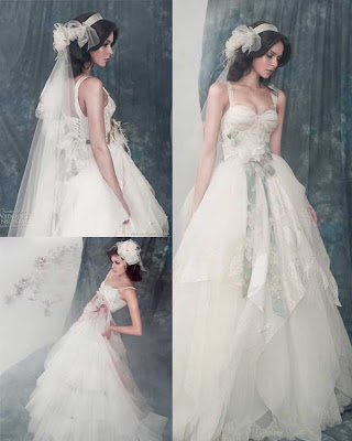 Alena Goretskaya Wedding Dress 2011