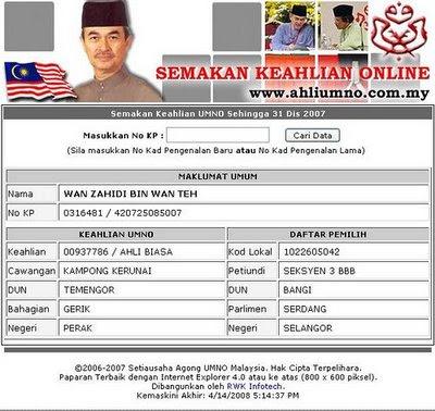 Thinking Of Life Mufti Wilayah Ahli Umno No 937786 Malaysiakini