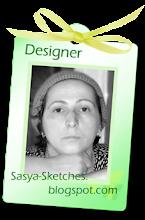 Была дизайнером  Sasya-sketches