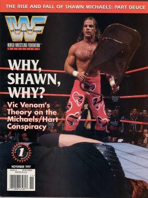 WWF Raw Magazine - Chyna with Guns - October 1998 (WWE