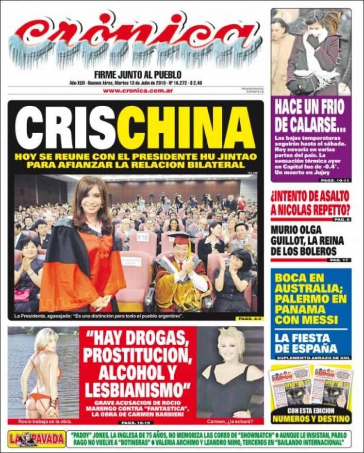 diario el cronica: