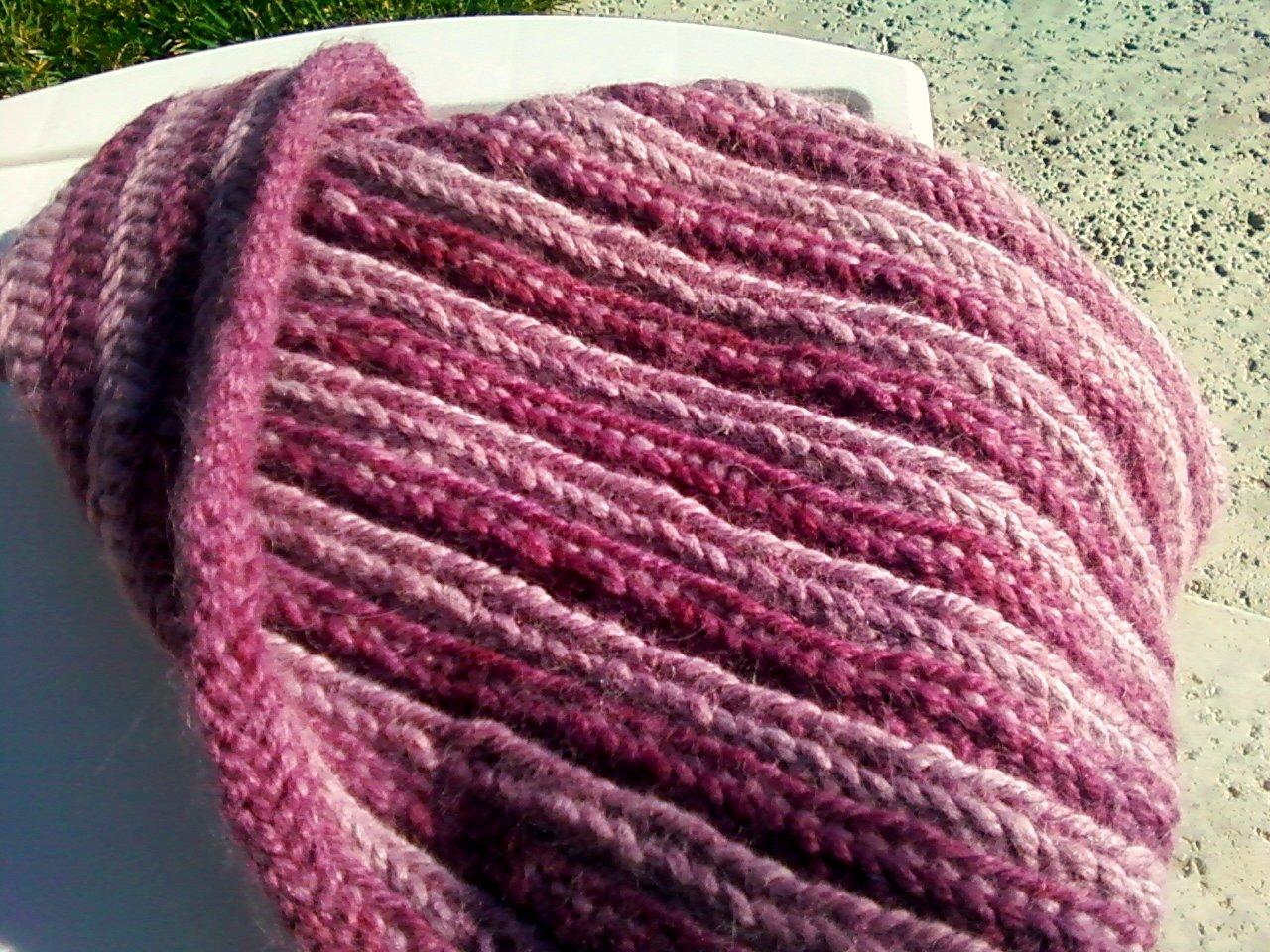Braided Cowl Knitting Pattern : Anacapa Knits: Free Pattern: Fishtail Braid Cowl!