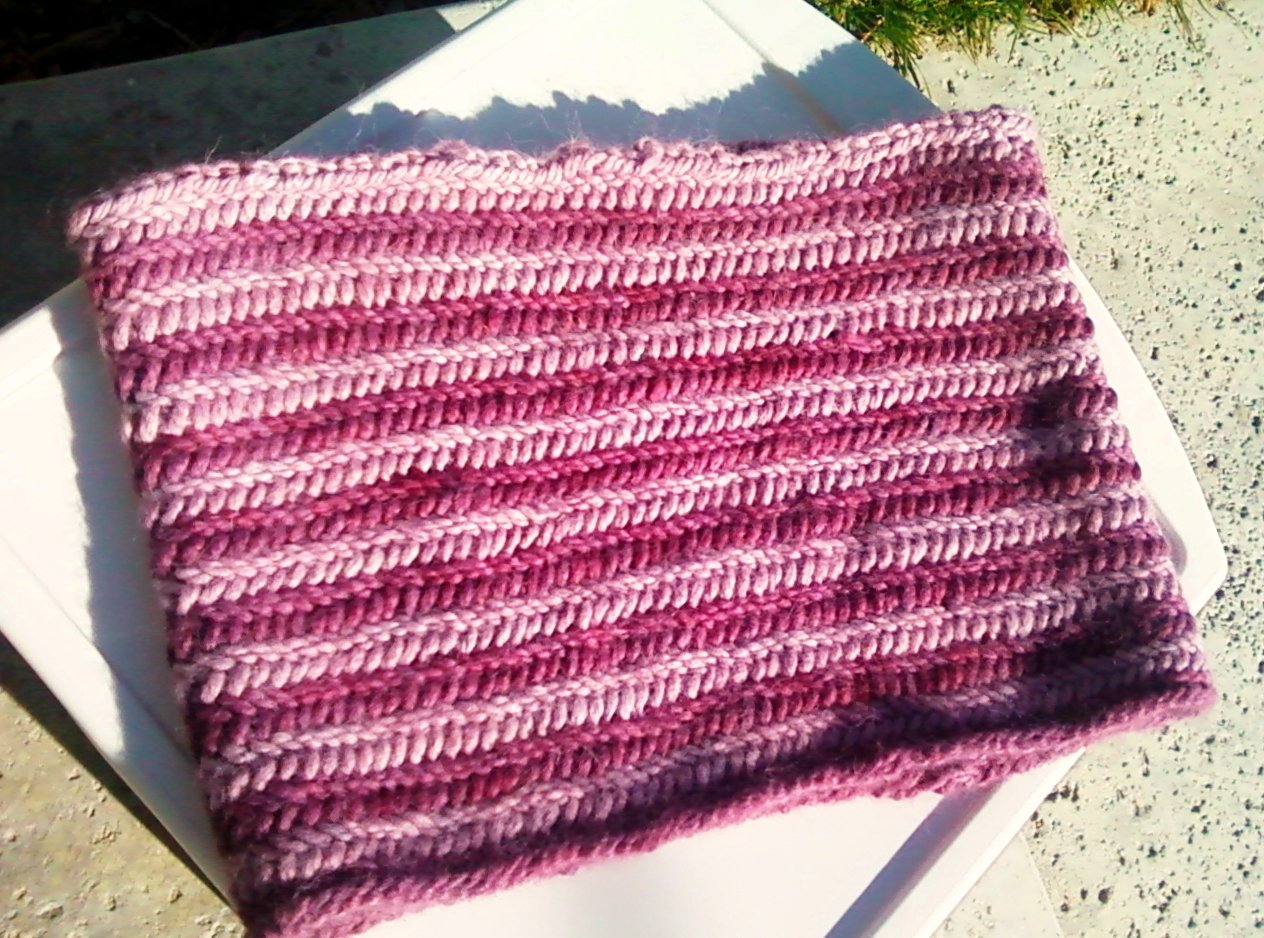 Knitting Terms Tbl : Anacapa knits free pattern fishtail braid cowl