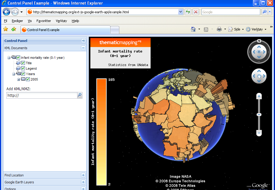 Master maps new ext js extension for google earth api sciox Choice Image