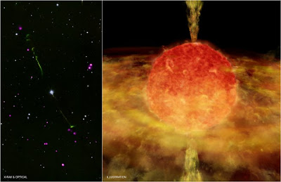 Chandra Finds Evidence for Stellar Cannibalism